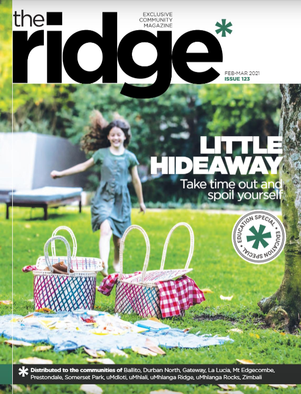 The latest Ridge Magazine Cover, featuring Teremok Boutique Hotel & Spa